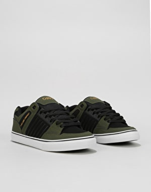 DVS Celsius CT (Brian Deegan) Skate Shoes - Olive/Black Nubuck