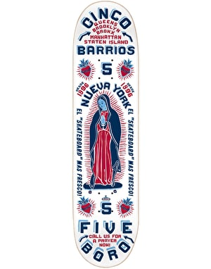 5Boro Cinco Barrios Skateboard Deck - 8