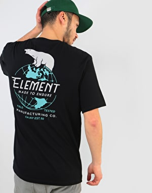 Element Arctic T-Shirt - Flint Black