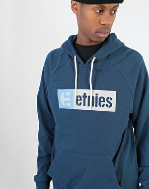Etnies New Box Pullover Hoodie - Dark Navy