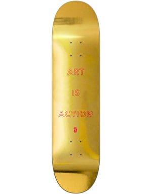 Poetic Collective Art is Action Skateboard Deck - 8