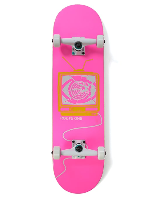 Route One Broken Broadcasting Complete Skateboard - 8.5""