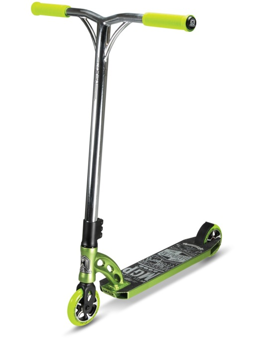 Madd VX6 Team Edition Scooter - Lime/Chrome
