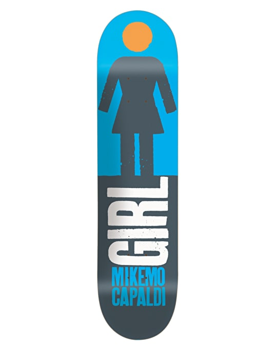 Girl Mike Mo Big Girl Real Big Pro Deck - 8""