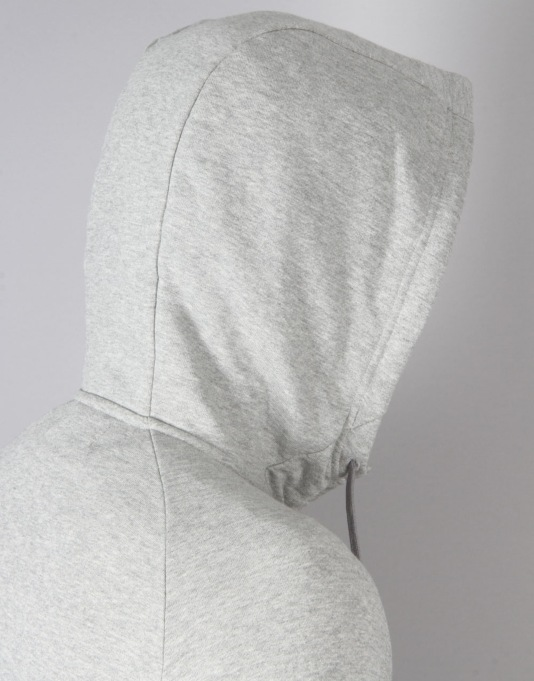 Nike SB Everett Graphic Full-Zip Hoodie - Dk Grey/Heather/Black