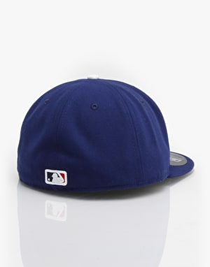New Era 59Fifty MLB Los Angeles Dodgers Fitted Cap - Royal/White