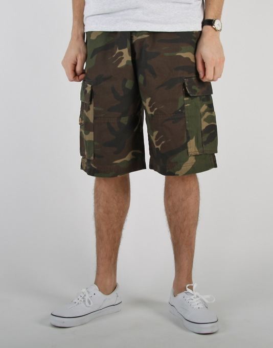 Route One Cargo Shorts - Camo