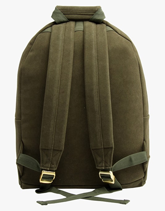 Mi-Pac Suede Backpack - Hunter Green