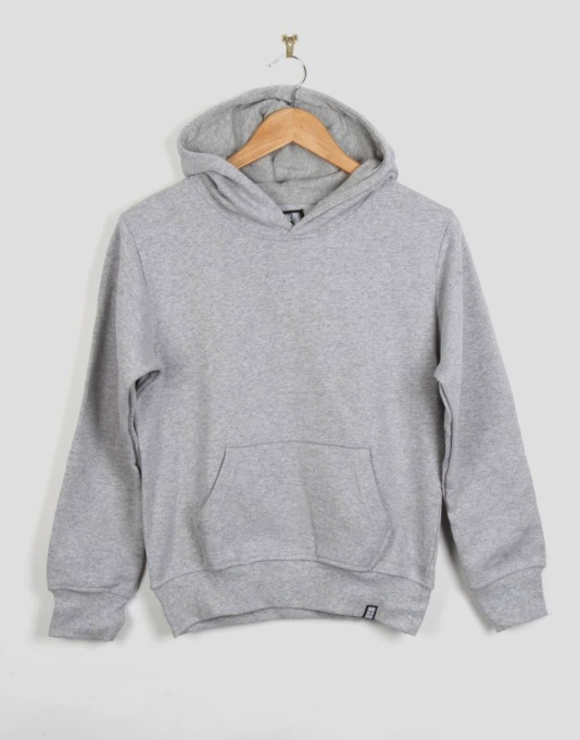 Route One Boys Basic Hoodie - Heather Grey