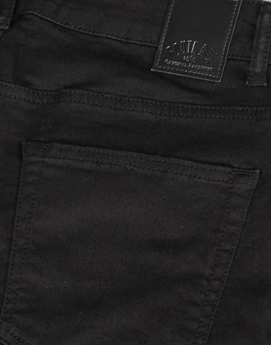 Route One Super Skinny Denim Jeans – Black