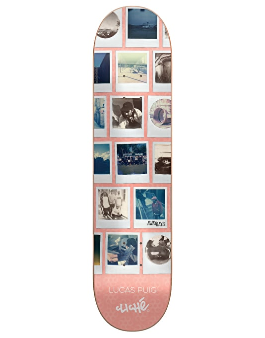 Cliché x Adidas Puig Away Days Pro Deck - 8.25""