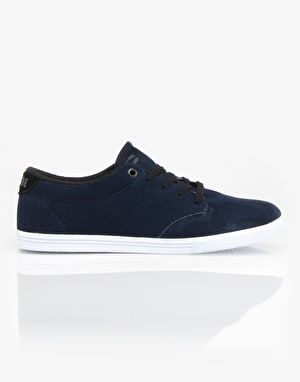 Globe Lighthouse Slim Skate Shoes - Navy/White