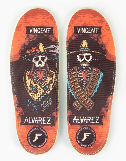 Footprint King Foam Orthotic Insoles - Vincent Alvarez