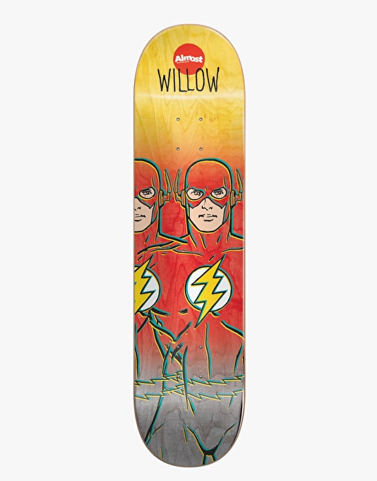 Almost x DC Comics Willow Flash Fade Pro Deck - 8.38""