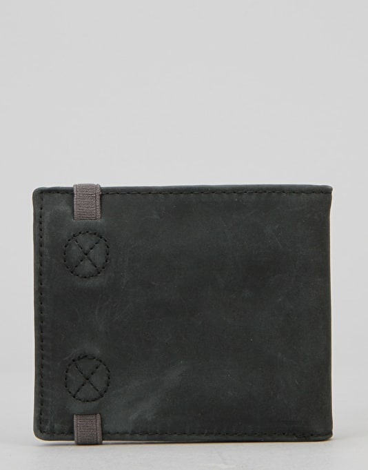 Element Endure Leather Wallet - Black/Black