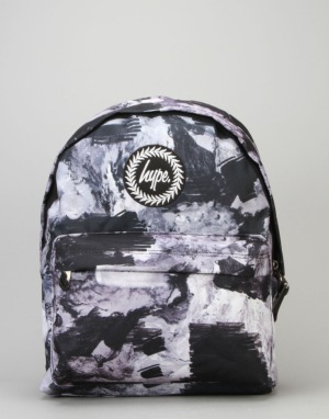 Hype Ground Work Backpack - Black/White