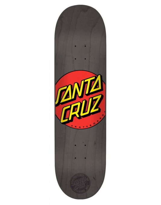 Santa Cruz Classic Dot Team Deck - 8.25""
