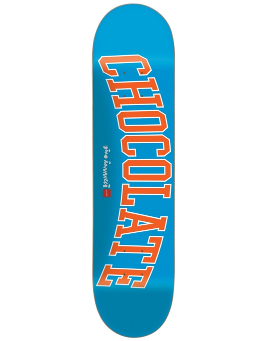 Chocolate Iannucci League Skateboard Deck - 8.5""