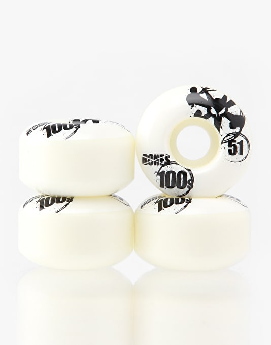 Bones OG 100s V4 Team Wheels