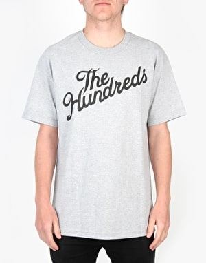 The Hundreds Forever Slant T-Shirt - Athletic Heather