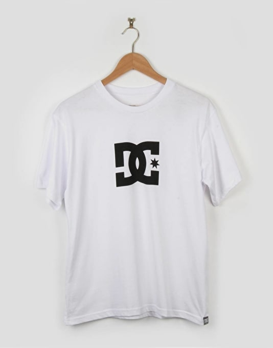 DC Boys Star T-Shirt - White