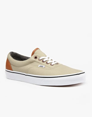 Vans Era Skate Shoes - C L Light Khaki