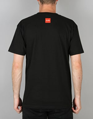 HUF x Chocolate Box Logo T-Shirt - Black