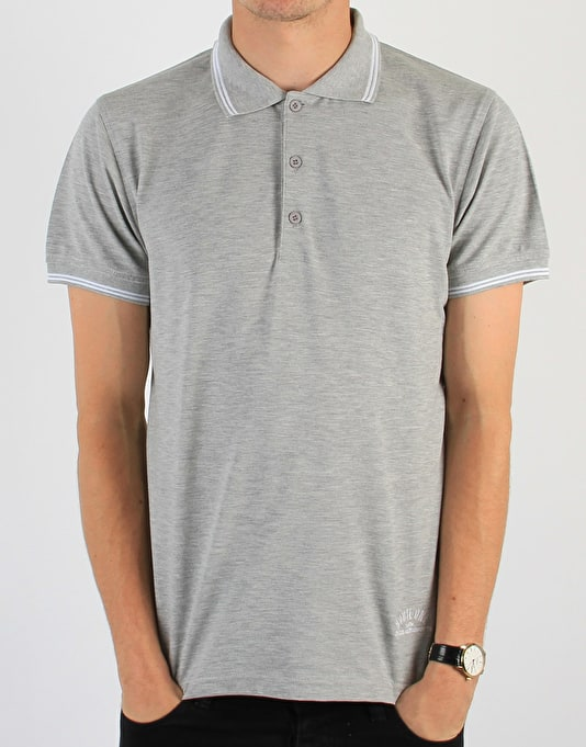Route One Polo Shirt - Grey