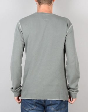 Route One Restless LS Thermal T-Shirt - Grey
