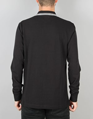 Converse Core L/S Polo Shirt - Converse Black