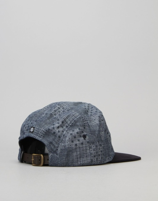 Element Sativa Elite 5 Panel Cap - Indigo Blue