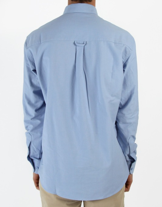RUE Havana Oxford Contrast Pocket Shirt