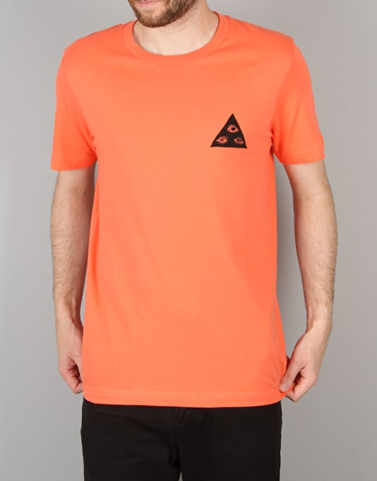Welcome Talisman T-Shirt - Coral/Black