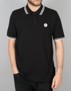 Converse Core S/S Polo Shirt - Converse Black