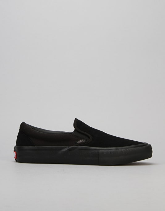 2eb78cfa7c5 Buy vans slip on pro black out
