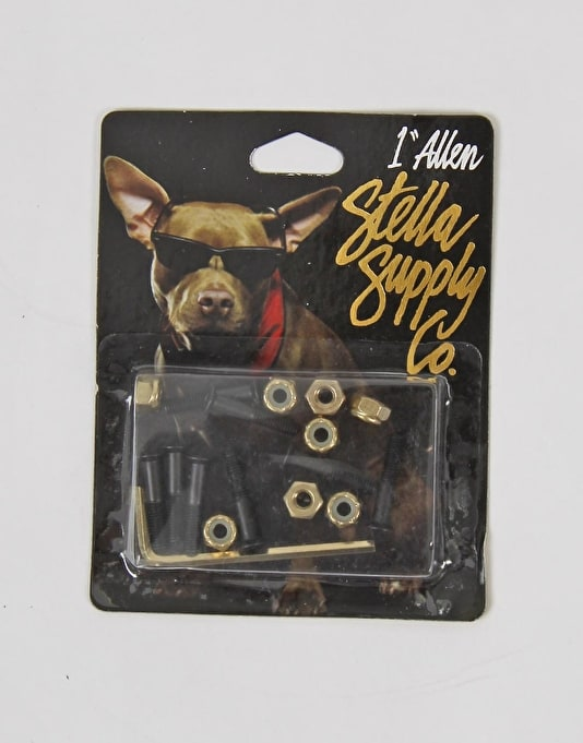 "Stella Supply Co. 1"" Allen Bolts"