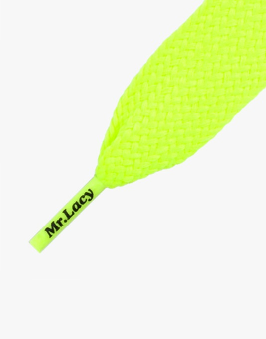 Mr. Lacy Fatties Laces - Yellow
