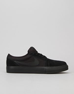 Nike SB Satire II Boys Skate Shoes - Black/Black/Anthracite