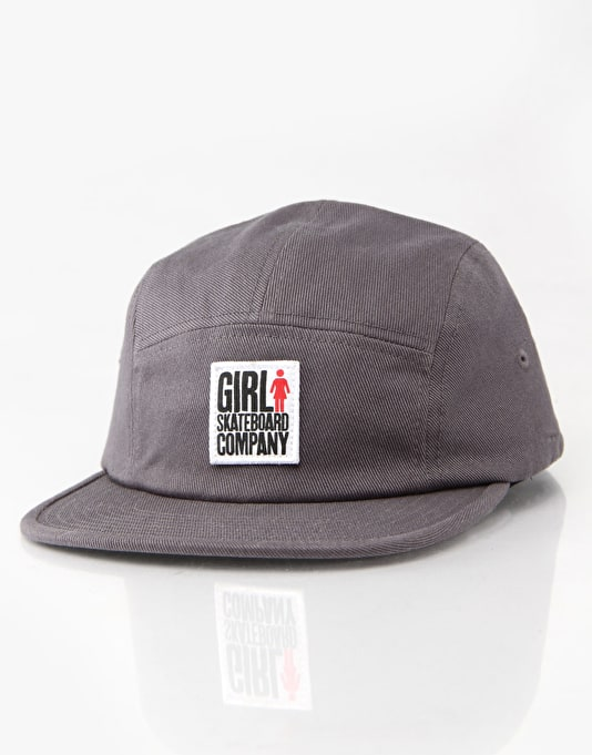 Girl Big Girl Camper 5 Panel Cap