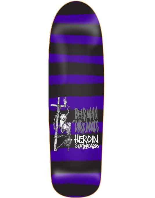 Heroin Deer Man of Dark Woods Striped Icon Pro Deck - 9.5""