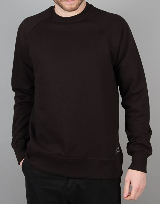 Route One Basic Sweatshirt - Black