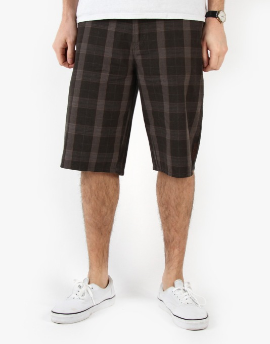 Etnies Mully Plaid Chino Shorts
