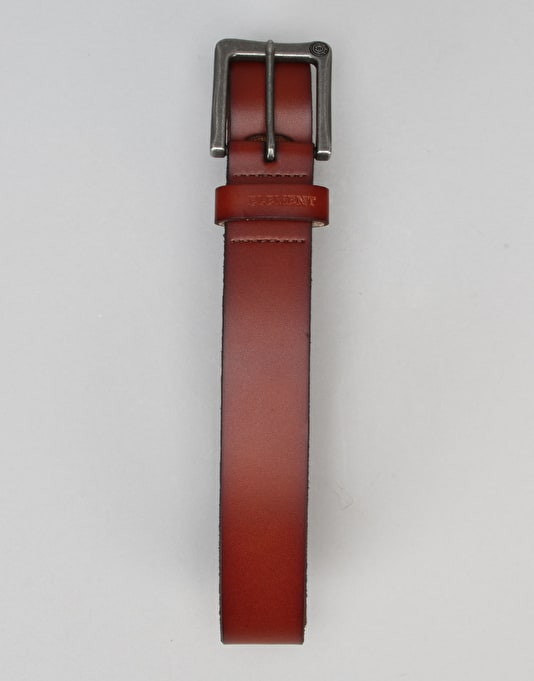 Element Poloma Leather Belt - Chocolate