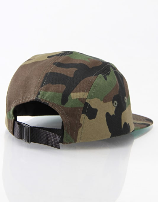 5Boro Join Or Die 5 Panel Cap - Camo