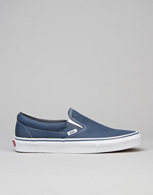 Vans Classic Slip On Skate Shoes - Navy