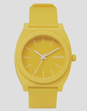 Nixon Time Teller P Watch - Matte Yellow
