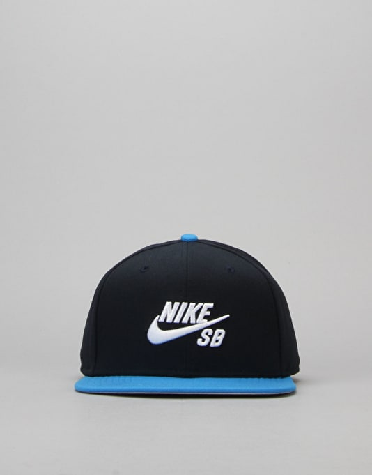 Nike SB Icon Snapback Cap - Dark Obsidian/Photo Blue/Black/White
