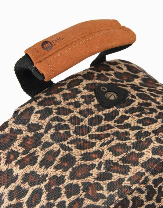 Mi-Pac Leopard Backpack - Black/Leopard