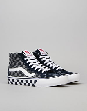 Vans Sk8-Hi Reissue Pro Skate Shoes - 83 Checker/Blue/Grey