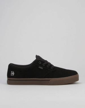 Etnies Jameson 2 Eco (Matt Berger) Skate Shoes - Black/Black/Gum